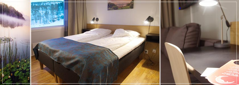 rommene på Hamarøy Hotell